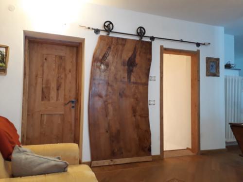 porta scorrevole legno