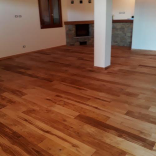 parquet pavimento stanza artigianale