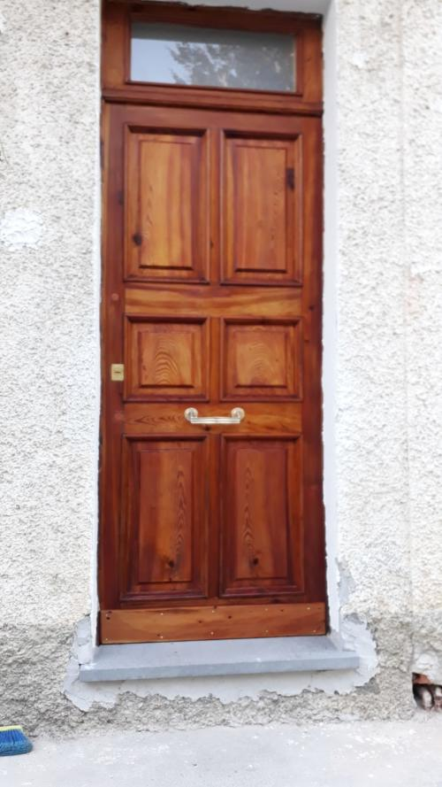porta legno ingresso